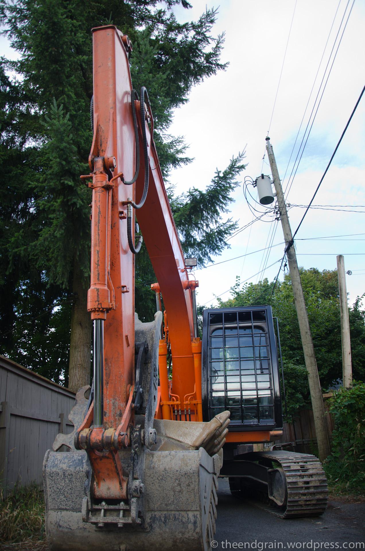 Excavator Arrives!