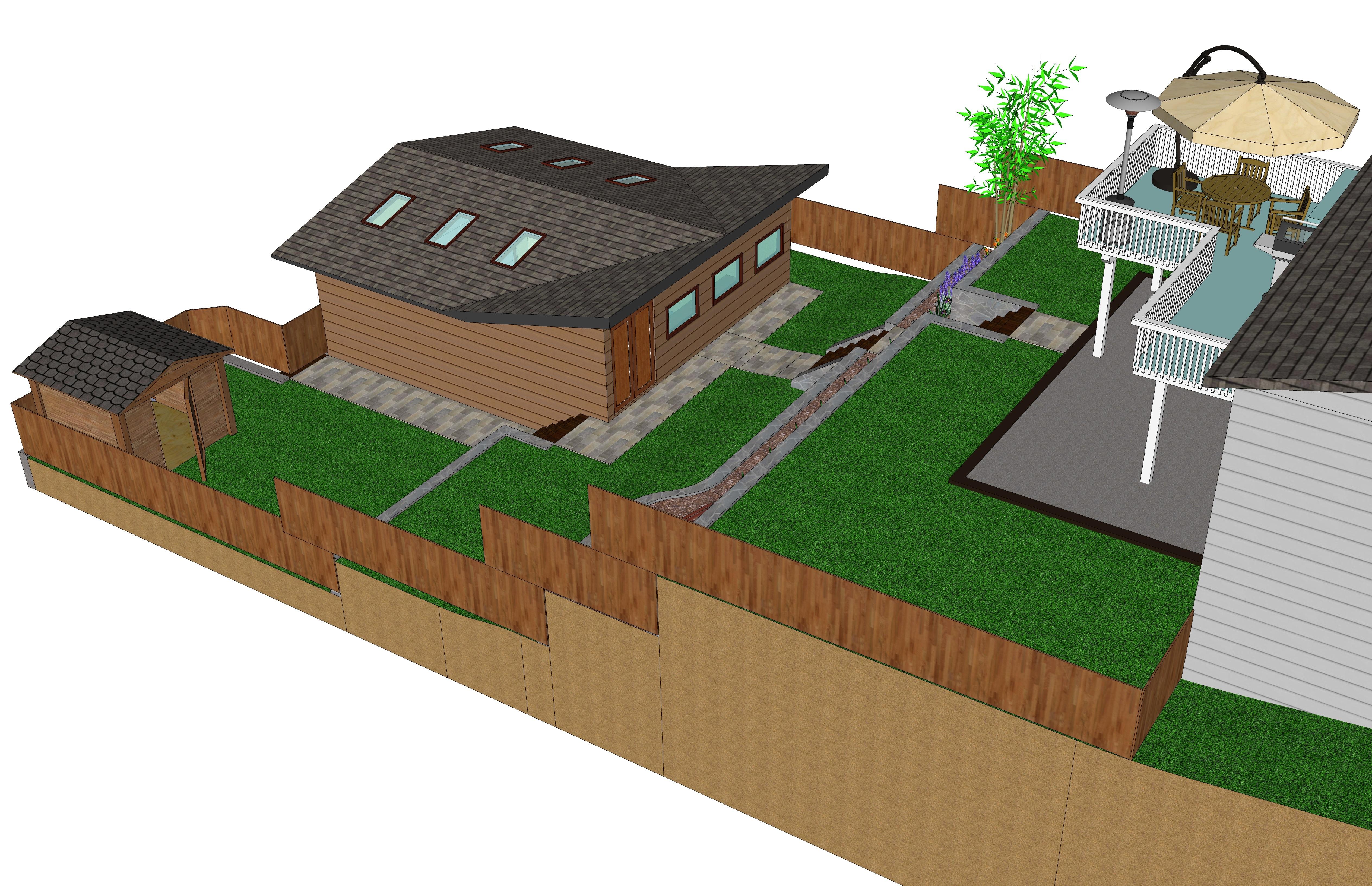 Concept Model in Sketchup