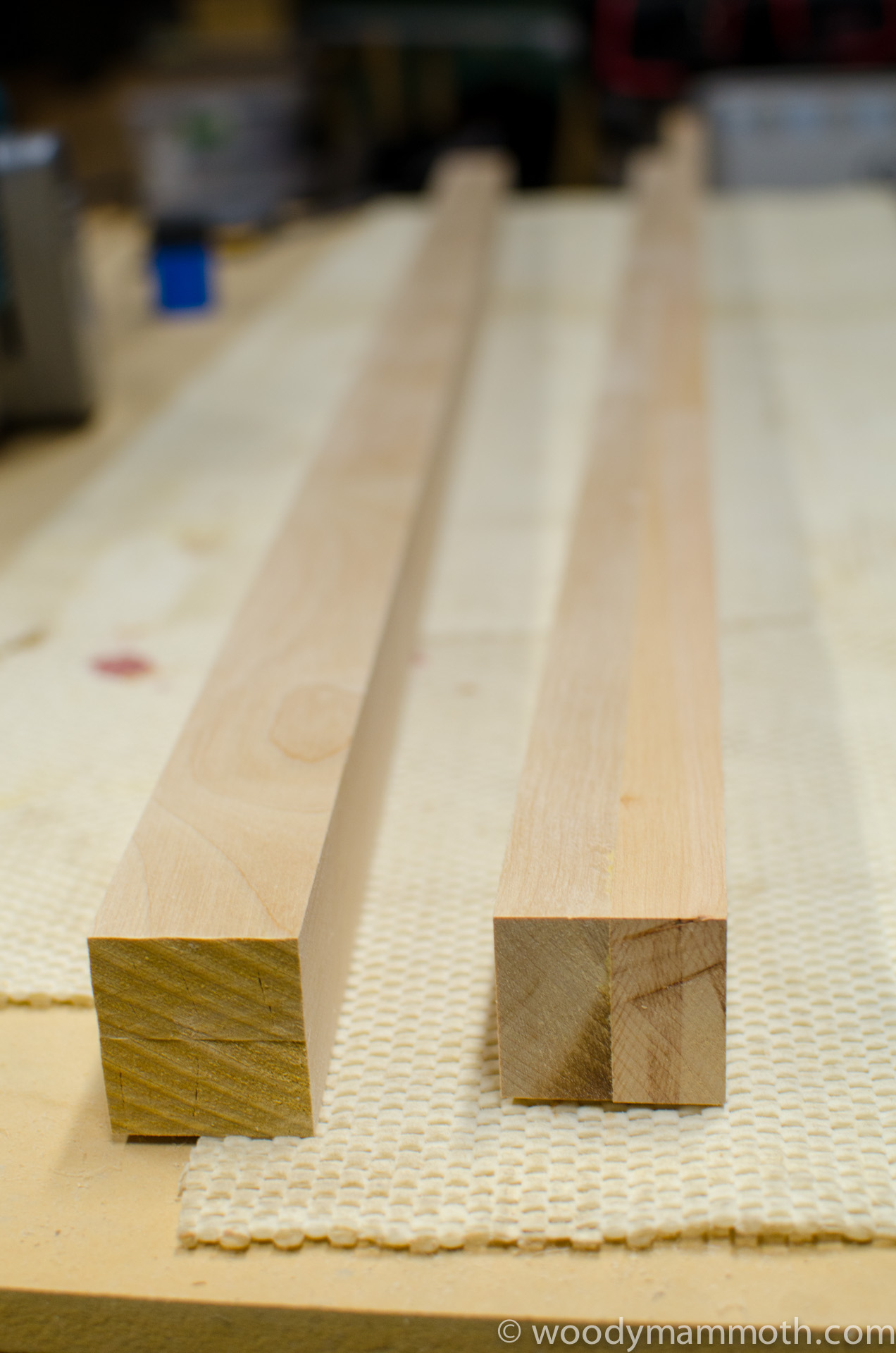 Laminated birch for spacers
